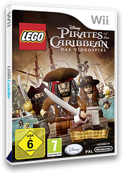 LEGO Pirates of the Caribbean: Das Videospiel Wii cover (SCJP4Q)