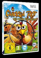Chicken Riot: Die wilde Hühnerjagd Wii cover (SCRPJH)