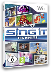 Disney Sing It: Filmhits Wii cover (SDFP4Q)