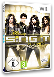 Disney Sing It: Pop Party Wii cover (SDIP4Q)
