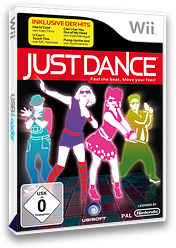 Just Dance Wii cover (SDNP41)