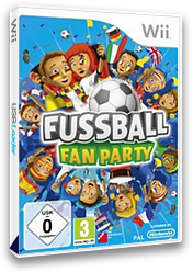 Fussball Fan Party Wii cover (SFPPFR)