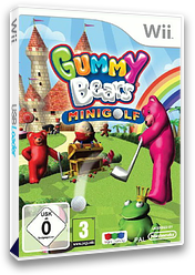 Gummy Bears Mini Golf Wii cover (SGYPNJ)
