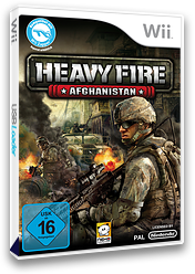 Heavy Fire: Afghanistan Wii cover (SH4PNK)