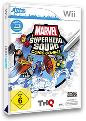 Marvel Super Hero Squad: Comic Combat Wii cover (SMZP78)
