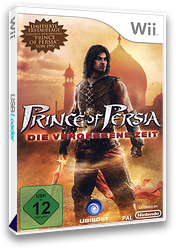 Prince of Persia: Die Vergessene Zeit Wii cover (SPXP41)