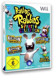 Raving Rabbids Party Collection Wii cover (SR5P41)