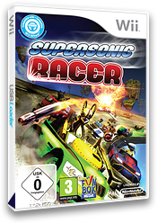 Supersonic Racer Wii cover (SRSPXT)