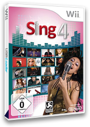 Sing 4: The Hits Edition Wii cover (SSFPKM)