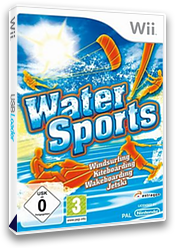 Water Sports Wii cover (SSWDRM)