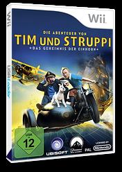 Die Abenteuer von Tim und Struppi:Das Geheimnis der Einhorn Wii cover (STNP41)