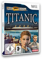 Hidden Mysteries: Titanic Wii cover (STTDRM)
