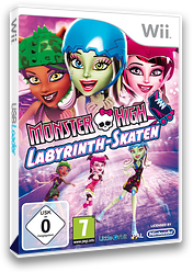 Monster High: Labyrinth-Skaten Wii cover (SU5PVZ)