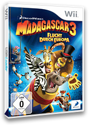 Madagascar 3: Flucht durch Europa Wii cover (SV3PAF)