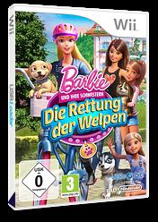 Barbie und ihre Schwestern: Die Rettung der Welpen Wii cover (SVQPVZ)