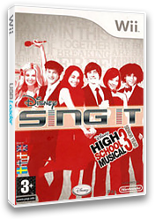 Disney Sing It: High School Musical 3 Wii cover (REYX4Q)