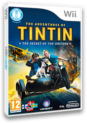The Adventures of Tintin: The Secret of the Unicorn Wii cover (STNP41)