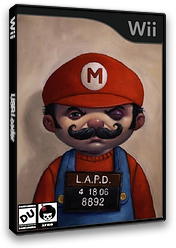 New Super Mario Bros. Wii ANDY AFRO'S Custom Collection Volume 3. CUSTOM cover (APRP02)