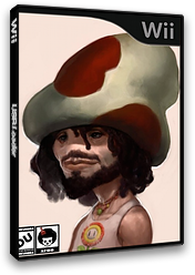New Super Mario Bros. Wii ANDY AFRO'S Custom Collection Volume 6. CUSTOM cover (APRP03)
