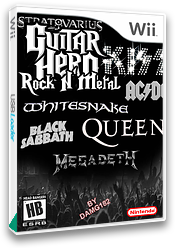 Guitar Hero III Custom: Rock n' Metal CUSTOM cover (BEPS01)