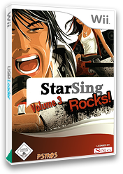 StarSing : Rocks! Volume 3 v2.0 CUSTOM cover (CSWP00)