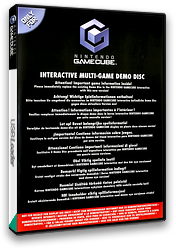 Interactive Multi-Game Demo Disc - April 2005 GameCube cover (D82P01)