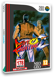 Art of Fighting 2 VC-NEOGEO cover (EALP)