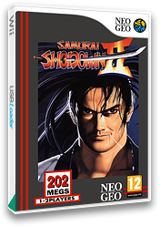 Samurai Shodown II VC-NEOGEO cover (EASP)
