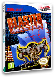 Blaster Master VC-NES cover (FFMP)