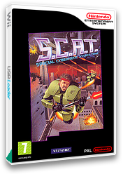 S.C.A.T.: Special Cybernetic Attack Team VC-NES cover (FFVP)