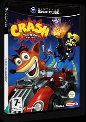 Crash Tag Team Racing GameCube cover (G9RP7D)