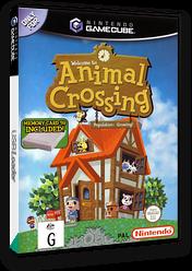 Animal Crossing GameCube cover (GAFU01)