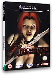 BloodRayne GameCube cover (GBDP7D)