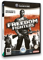 Freedom Fighters GameCube cover (GFDP69)