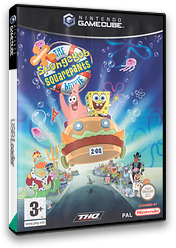 Spongebob Squarepants: The Movie GameCube cover (GGVP78)