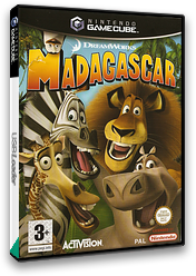 Madagascar GameCube cover (GGZP52)