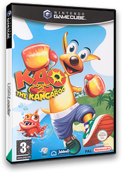Kao The Kangaroo Round 2 GameCube cover (GKOP6V)