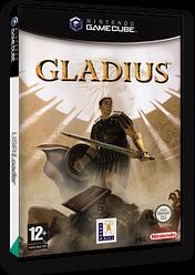 Gladius GameCube cover (GLSP64)