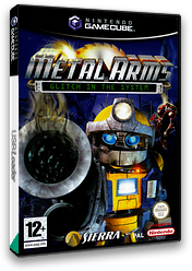 Metal Arms: Glitch in the System GameCube cover (GM5P7D)