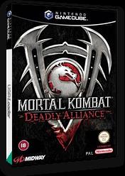 Mortal Kombat: Deadly Alliance GameCube cover (GMKP5D)