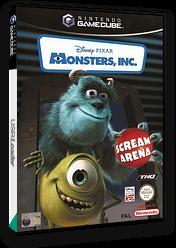 Monsters, Inc. Scream Arena GameCube cover (GMNP78)