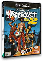 NBA Street Vol.2 GameCube cover (GNZP69)