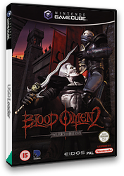 Blood Omen 2: The Legacy of Kain Series GameCube cover (GO2P4F)
