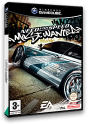 Need for Speed: Most Wanted GameCube cover (GOWF69)