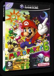Mario Party 6 GameCube cover (GP6P01)