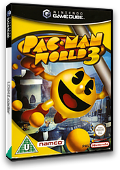 Pac-Man World 3 GameCube cover (GP8P69)