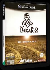 Dakar 2: The World's Ultimate Rally GameCube cover (GPDP51)