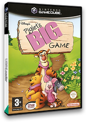 Piglet's Big Game GameCube cover (GPLP9G)