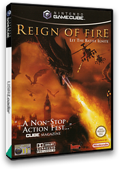 Reign of Fire GameCube cover (GR9P6L)