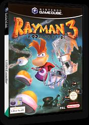 Rayman 3: Hoodlum Havoc GameCube cover (GRHP41)